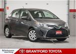 2015 Toyota Yaris LE, Hatchback, Automatic, Carproof Clean in Brantford, Ontario