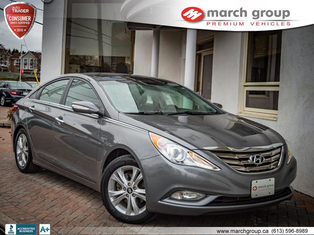 2012 hyundai sonata limited at ottawa ontario used car for sale 2650942. Black Bedroom Furniture Sets. Home Design Ideas