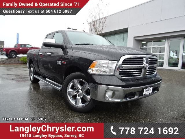 2015 DODGE RAM 1500 SLT LOCALLY DRIVEN, ONE OWNER & ACCIDENT FREE in Surrey, British Columbia