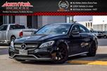 2015 Mercedes-Benz C-Class S AMG PanoSunroof Nav RearCam BlindSpot HtdFrntSeats 19Alloys  in Thornhill, Ontario