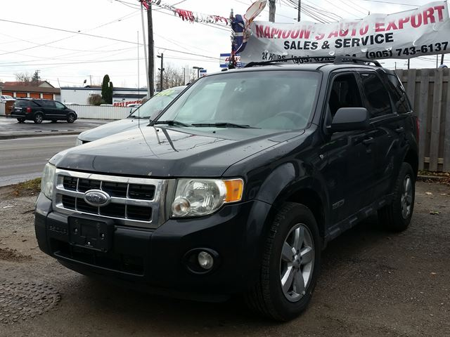 2008 Ford Escape Xlt Black Mamoons Service