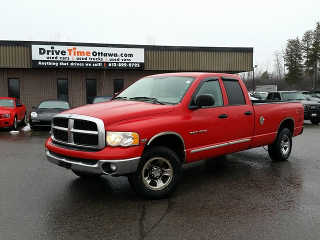 2005 dodge ram 1500 slt quad cab 4x4 ottawa ontario used car for. Cars Review. Best American Auto & Cars Review