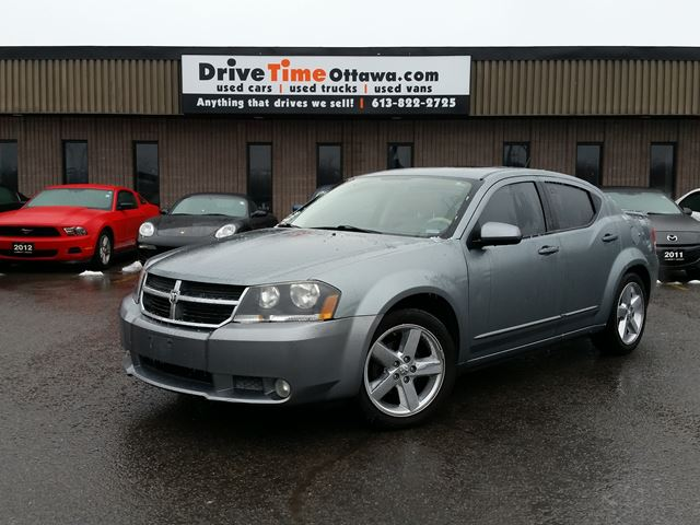 dodge avenger rt 2008 dodge avenger r t ottawa ontario used car for sale. Black Bedroom Furniture Sets. Home Design Ideas