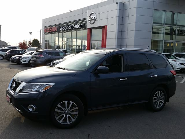 2014 nissan pathfinder sv dark blue woodchester nissan and infiniti. Black Bedroom Furniture Sets. Home Design Ideas