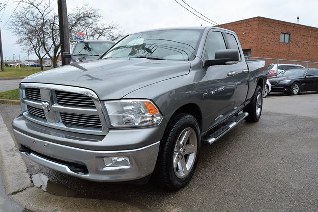 2011 dodge ram 1500 big horn 4x4 6 passenger no accident history brampton ontario used. Black Bedroom Furniture Sets. Home Design Ideas