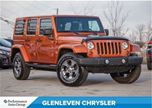 2011 Jeep Wrangler Unlimited One Owner, Clean Carproof! in Oakville, Ontario