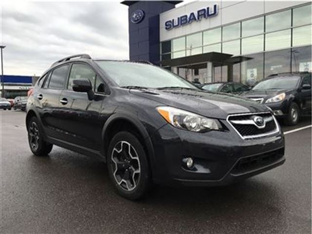 2014 subaru xv crosstrek limited kingston ontario used car for sale 2651498. Black Bedroom Furniture Sets. Home Design Ideas