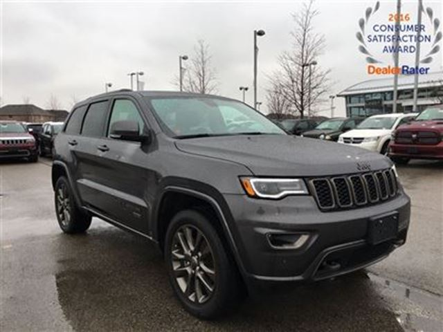 2017 jeep grand cherokee demo only 3301 kms limited 75th anniversary navi mississauga. Black Bedroom Furniture Sets. Home Design Ideas