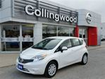 2014 Nissan Versa SV w/CONVENIENCE PKG *1 OWNER* ASP EXTENDED WARRAN in Collingwood, Ontario