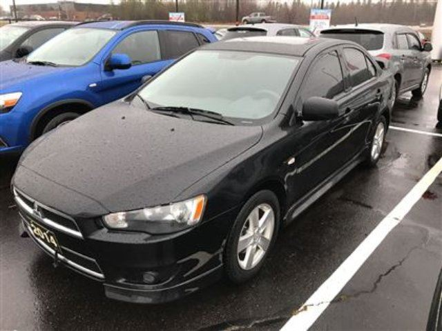 2014 Mitsubishi Lancer SE Sunroof, Spoiler, Heated Seats!! in Thunder Bay, Ontario
