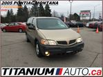2005 Pontiac Montana Extended+DVD+Power Group+Fog Lights+Trailer Hitch+ in London, Ontario