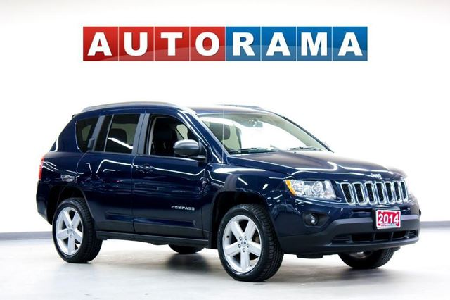 2014 jeep compass 4x4 leather blue autorama. Cars Review. Best American Auto & Cars Review