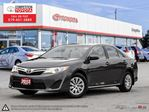2012 Toyota Camry LE Competition Certified, One Owner, No Accidents, Toyota Serviced in London, Ontario