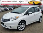2014 Nissan Versa NOTE SL 5spd w/cruise,push button start,heated seats,rear cam,pwr heated mirrors in Cambridge, Ontario