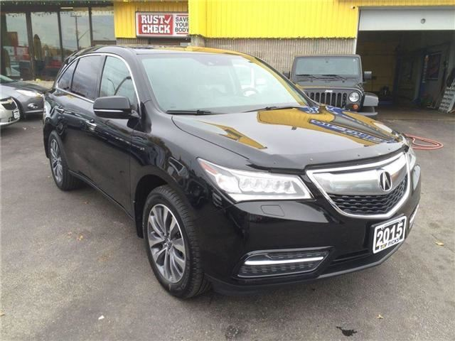 2015 acura mdx north bay ontario used car for sale 2653560. Black Bedroom Furniture Sets. Home Design Ideas