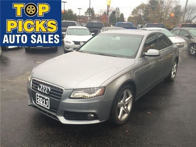 2011 AUDI A4           in North Bay, Ontario