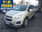 2013 Chevrolet Trax           in North Bay, Ontario