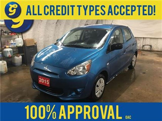 2015 MITSUBISHI MIRAGE ES*PHONE CONNECT*LINK SYSTEM VOICE CONTROL*CLIMATE in Cambridge, Ontario