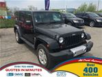2012 Jeep Wrangler Unlimited Sahara * 2TOPS * SAT RADIO in London, Ontario