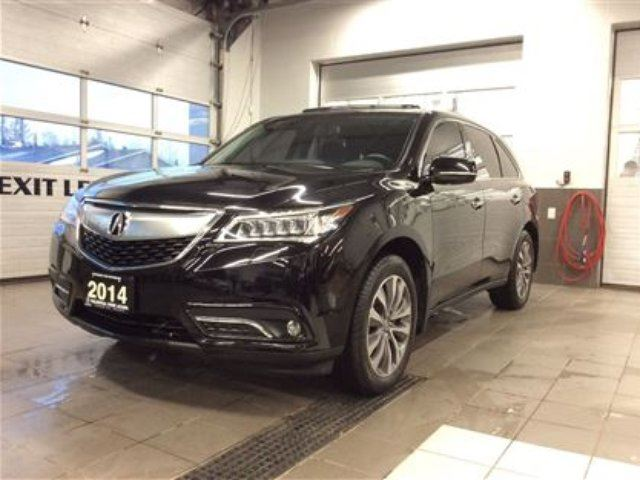 2014 Acura MDX Tech AWD - DVD - One Owner in Thunder Bay, Ontario