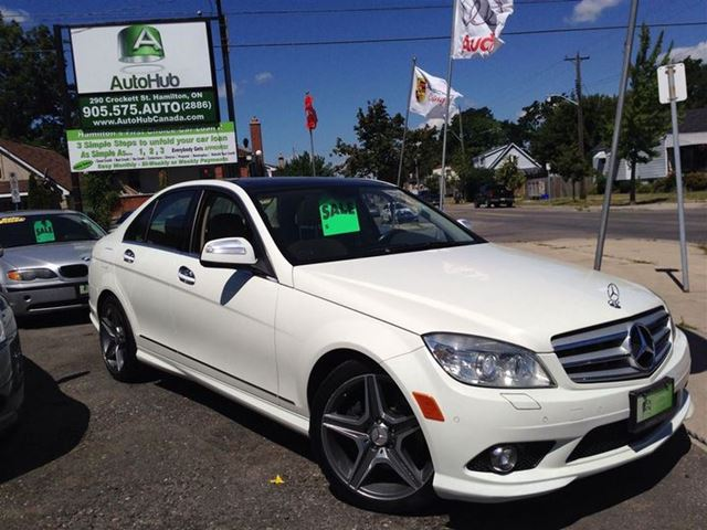 2009 mercedes benz c class c350 4matic navigation sold. Black Bedroom Furniture Sets. Home Design Ideas