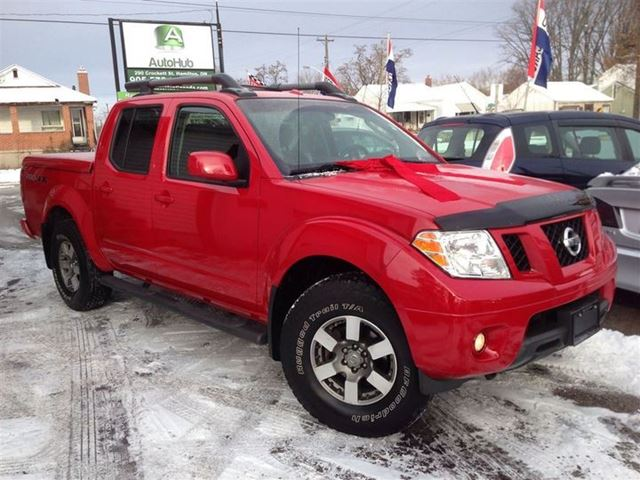 2009 nissan frontier pro 4x package sold hamilton ontario used car for sale 2655028. Black Bedroom Furniture Sets. Home Design Ideas