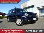 2015 Jeep Patriot Sport/North LOCALLY DRIVEN, ONE OWNER & ACCIDENT FREE in Surrey, British Columbia
