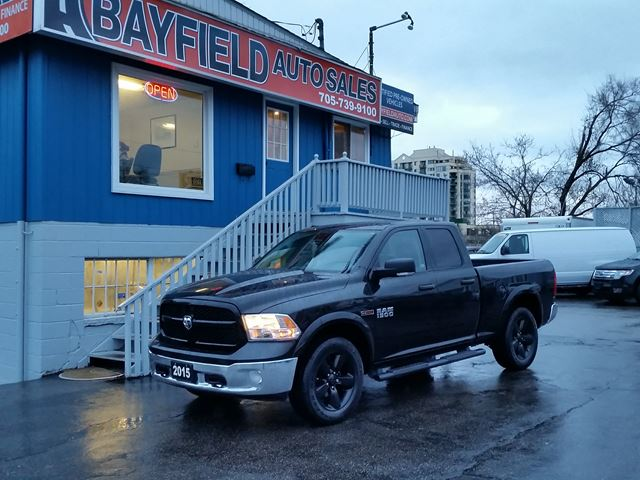 2015 dodge ram 1500 outdoorsman quad cab 4x4 ecodiesel barrie ontario used car for sale. Black Bedroom Furniture Sets. Home Design Ideas