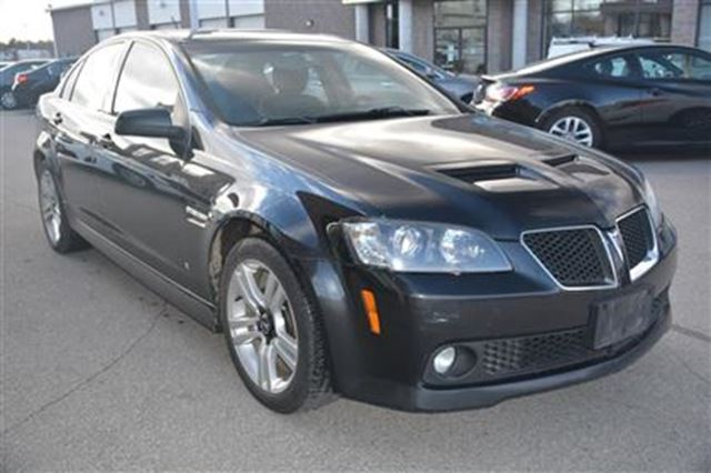 2009 pontiac g8 milton ontario used car for sale. Black Bedroom Furniture Sets. Home Design Ideas