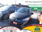 2014 Mazda MAZDA2 GX * CAR LOANS FOR ALL CREDIT SITUATIONS in London, Ontario