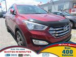 2013 Hyundai Santa Fe 2.4 Premium * AWD * HEATED POWER SEATS in London, Ontario