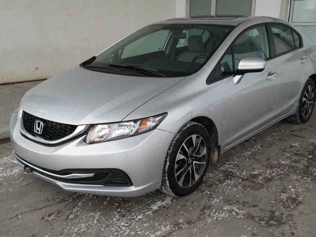 2014 honda civic ex honda certified sunroof auto for Honda civic sunroof