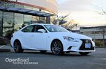 2015 Lexus IS 250 Navi, Leather Interior, Power/Heated Front Seat in Richmond, British Columbia