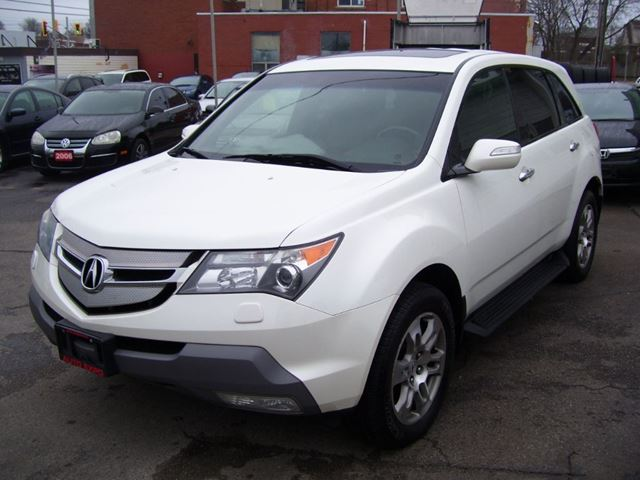 2008 Acura MDX Tech pkg White | AUTO EXPO INC | Wheels.ca