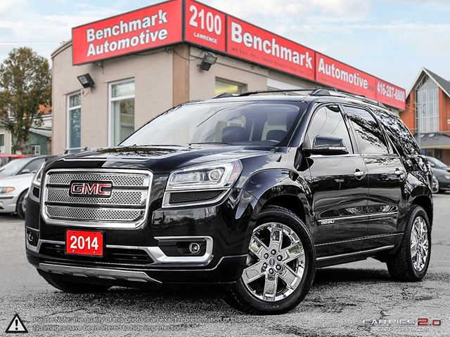 2014 gmc acadia denali navi dvd pano hud 1 owner clean carproof scarborough ontario used car. Black Bedroom Furniture Sets. Home Design Ideas