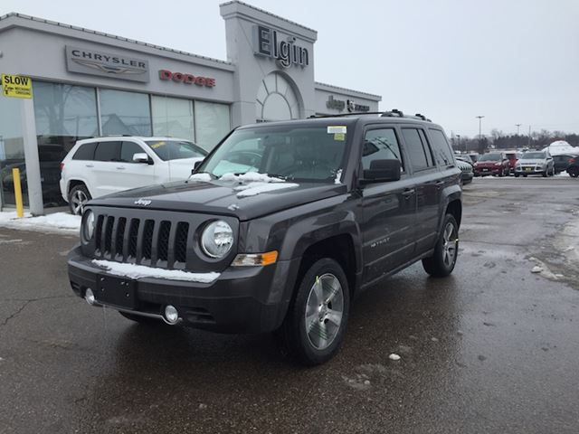 2017 jeep patriot high altitude st thomas ontario used car for sale 2654945. Black Bedroom Furniture Sets. Home Design Ideas
