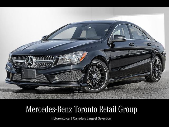 2014 mercedes benz cla250 coupe mississauga ontario for Mercedes benz cla250 used