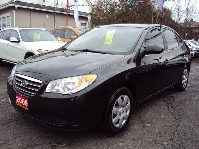 2009 hyundai elantra one owner dealer serviced black. Black Bedroom Furniture Sets. Home Design Ideas
