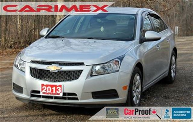 2013 CHEVROLET Cruze LT Turbo   ONLY 29K   Bluetooth   CERTIFIED + E-Te in Kitchener, Ontario