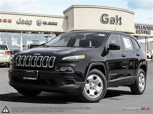 2016 JEEP Cherokee SPORT   5.0 TOUCHSCREEN   TIRE SENSOR   BLUETOOT in Cambridge, Ontario