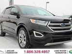 2015 Ford Edge Titanium AWD - LOCAL ONE OWNER TRADE IN   NO ACCIDENTS   FACTORY REMOTE STARTER   HEATED FRONT AND REAR SEATS   COOLED FRONT SEATS   HEATED STEERING WHEEL   DUAL ZONE CLIMATE CONTROL WITH AC   PANORAMIC SUNROOF   POWER LIFTGATE   NAVIGATION   BACK UP in Edmonton, Alberta