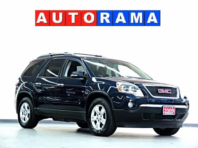 2009 GMC ACADIA 4WD 7 PASSENGER SUNROOF in North York, Ontario