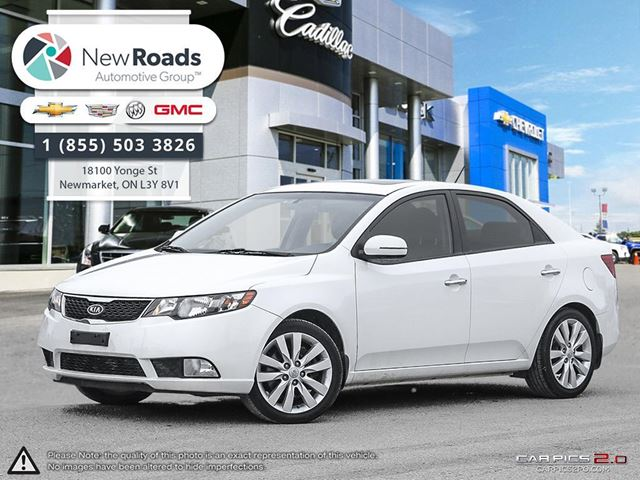 2011 Kia Forte Sx Leather Sunroof White New Roads Gm