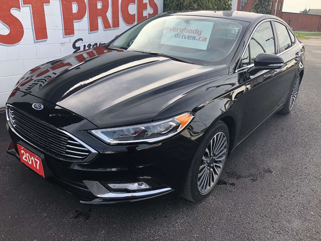 2017 ford fusion se all wheel drive remote start leather interior oshawa ontario used car. Black Bedroom Furniture Sets. Home Design Ideas
