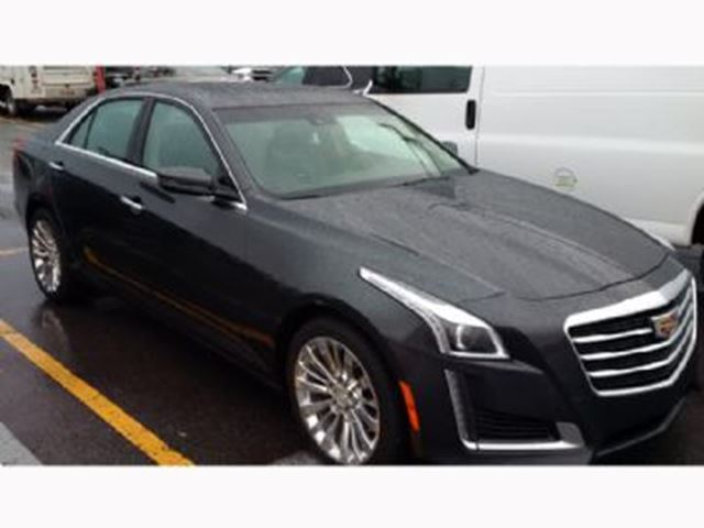2015 Cadillac Cts Luxury Package W Navigation Awd