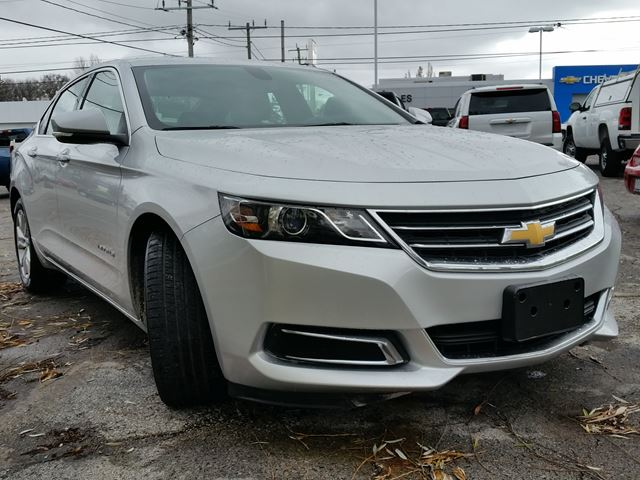 2016 chevrolet impala lt caledonia ontario used car for sale 2655507. Black Bedroom Furniture Sets. Home Design Ideas