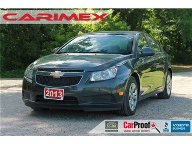 2013 CHEVROLET Cruze LT Turbo   Bluetooth   CERTIFIED + E-Tested in Kitchener, Ontario