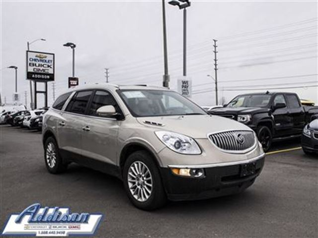 2012 Buick Enclave CXL One owner, accident free in Mississauga, Ontario