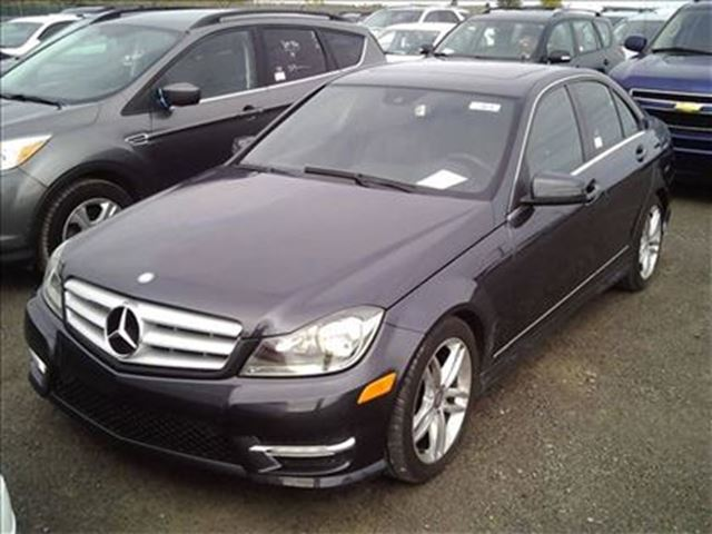 2013 mercedes benz c class c 300 4matic navagation leather for Mercedes benz 2013 c300 price