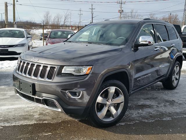 2015 jeep grand cherokee limited fort erie ontario used car for. Black Bedroom Furniture Sets. Home Design Ideas